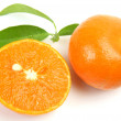 Stock Photo: Ripe tangerines