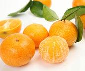 Ripe tangerines — Stock Photo