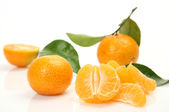 Ripe tangerines — Stock Photo