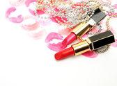 Female lipstick — Stock Photo