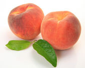 Ripe fruits. Peach — Stock Photo