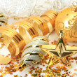 New Year's ornaments — Stock Photo