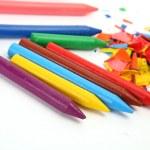 Color wax pencils — Stock Photo #29737995