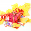 Box with a gift — Stock Photo #29739061