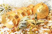 Adornos de año nuevo — Foto de Stock