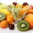 Salad from ripe fruit — Stock Photo #29976415
