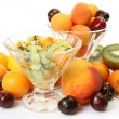 Salad from ripe fruit — Stock Photo #29976429
