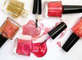 Color nail polish — Stock Photo