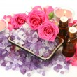 Accessories to an aromatherapy — Foto Stock