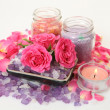 Accessories to an aromatherapy — Stockfoto