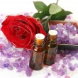 Accessories to an aromatherapy — Stock Photo