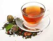 Bir kupa çay — Stok fotoğraf