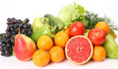 Ripe fruit and vegetables — Stockfoto