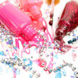 Color nail polish — Stock Photo #34682789