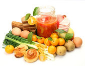 Food stuffs — Stock Photo