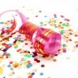 Confetti and streamer — Stock Photo #35545483