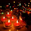 Burning candles — Stock Photo #35546981