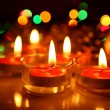 Burning candles — Stock Photo #35547009