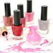 Stock Photo: Color nail polish