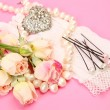 Wedding accessories — Stockfoto #35579591