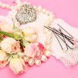 Stockfoto: Wedding accessories