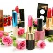 decorative cosmetics — Stock Photo