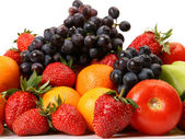 Ripe fruits and vegetables — Stock Photo