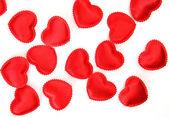 Scarlet srdce — Stock fotografie