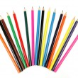 Color pencils for drawing — Stockfoto