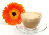 Coffee in a mug — Stock Photo