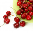 Red cherries — Foto Stock