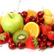 Ripe fruit and berries — Stock Photo