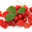 Ripe raspberries — Stockfoto