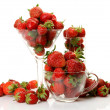 Ripe strawberry — Foto Stock