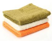 Cotton towels — Stock Photo