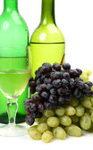 Vino y fruta madura — Foto de Stock