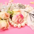 Foto Stock: Wedding accessories