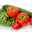 Fresh vegetables for a healthy feed — Stock Photo