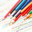 图库照片: Color pencils