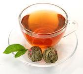 Tea in a mug — Stock Photo