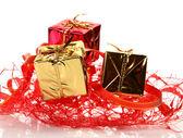 Boîtes à cadeaux — Photo