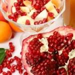 rijp fruit en SAP — Stockfoto