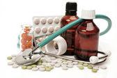Treatment of illness — Stock Photo