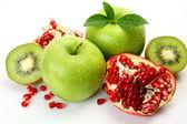 Olgun meyve sağlıklı bir görüş için — Stok fotoğraf