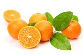 Fresh tangerines — Stock Photo