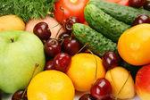 Verdura e frutta fresca — Foto Stock