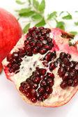 Close-up on pomegranate — Stock Photo