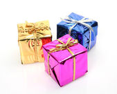 Color boxes — Stock Photo