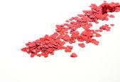 Kleur confetti — Stockfoto