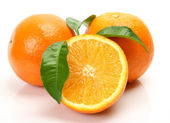 Fresh orange — Stock Photo